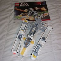 LEGO - Star Wars #7658 - Y-Wing Fighter - Complete ship manual