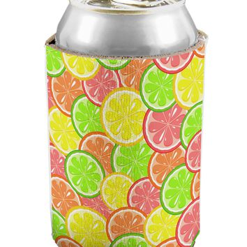Colorful Citrus Fruits Can / Bottle Insulator Coolers All Over Print