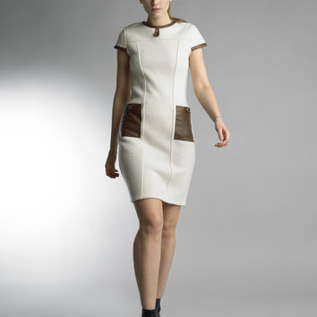 Historic New York La Laine Nuage Wool Cloud Dress