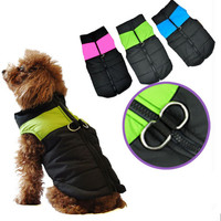 8 Size S-5XL Warm Dog Clothes Pet Padded Jacket Coat For Small and Large Dogs Winter Pet Dog Clothing Clothes For Dogs