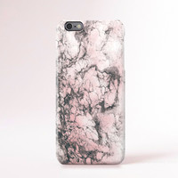 Pink iPhone 6 Case Marble Print iPhone 5 Case Blush Pink iPhone 5c Case Marble Print Cute iPhone Case iPhone 5 Case Samsung Galaxy S5 Case