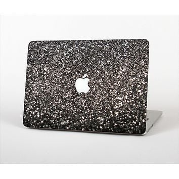 The Black Unfocused Sparkle Skin Set for the Apple MacBook Pro 15""