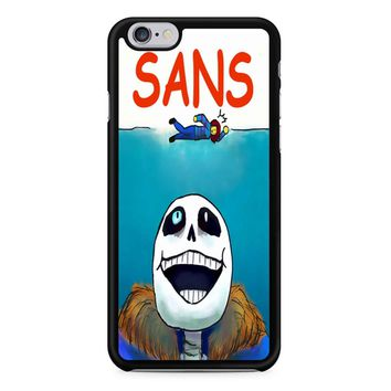 Undertale Sans Jaws Movie Poster iPhone 6/6s Case