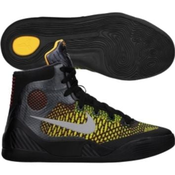 Nike Kids' Grade School Kobe 9 Elite Basketball Shoe - Black/Yellow | DICK'S Sporting Goods
