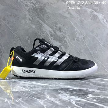DCCK2 A1196 Adidas Terrex Summer breathable retro round-headed wading shoes Black