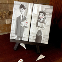 Paperman mini canvas set