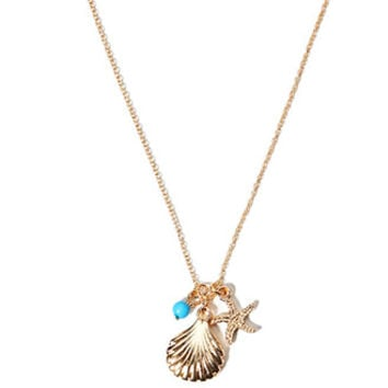 Shell Charm Necklace
