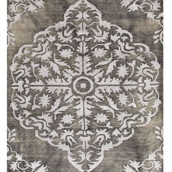 Lace Gray Luxury Over Dyed Rug