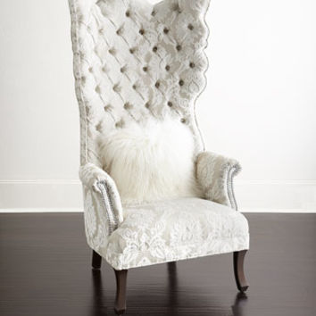 Haute House Cora Tufted Wing Chair