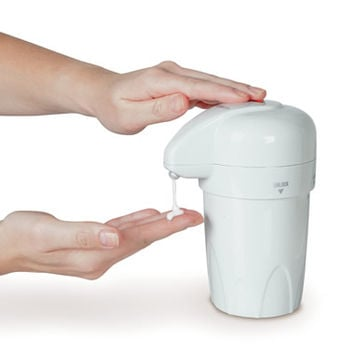 The Heated Lotion Dispenser
