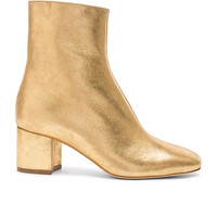 Brother Vellies Leather Kaya Boots in Gold Leather | FWRD