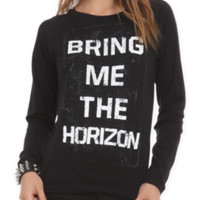 Bring Me The Horizon Logo Girls Pullover Top 2XL