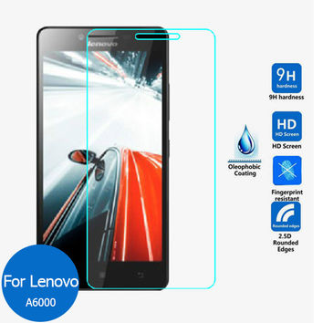 2pcs/lot Real 9H 2.5D 0.26mm New Luxury Tempered Glass Screen Protector Film for For Lenovo Lemon A6010 A6000 Plus A6000 K3