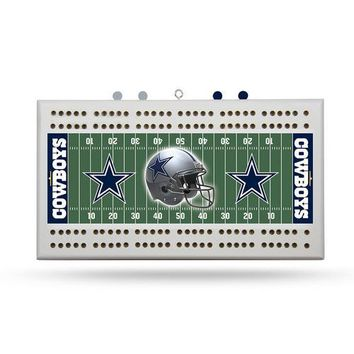 Dallas Cowboys NFL Cribbage Board