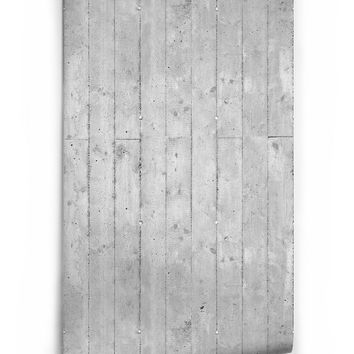 Sample of Cement Paneling Boutique Faux Wallpaper design by Milton & King