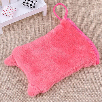 Reusable Orecchiette Microfiber Facial Cloth Face Towel Makeup Remover Cleansing Glove Tool