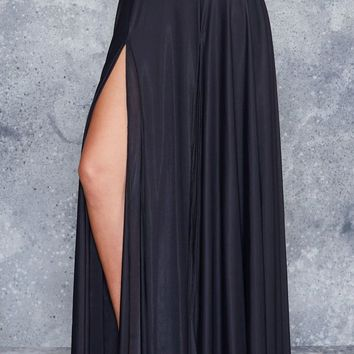 SHEER SPLIT SKIRT - LIMITED