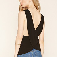 Contemporary Crisscross Tank