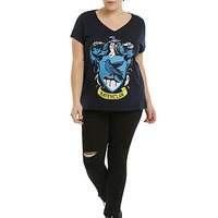 Harry Potter Ravenclaw Crest Girls T-Shirt Plus Size