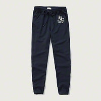 A&F Graphic Joggers