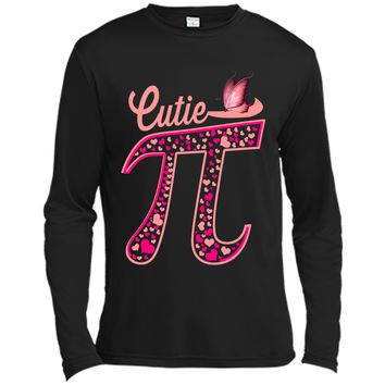 Pi Day Shirt Women Kids Men Toddler Math Teacher Gift Funny Long Sleeve Moisture Absorbing Shirt