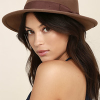 Wyeth Nicholas Brown Fedora Hat
