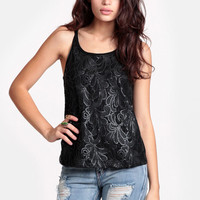 Meet Me At Nightfall Sequined Top