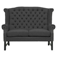 Sussex Loveseat in Charcoal