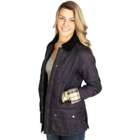 Beadnell Polarquilt Jacket in Navy by Barbour