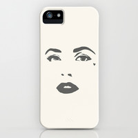 sad to the core iPhone & iPod Case by lizayzay