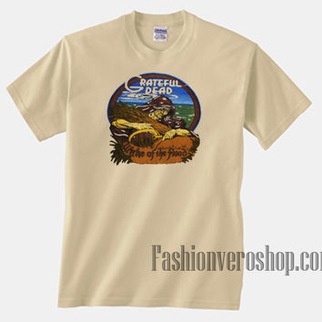 Grateful Dead Wake Of The Flood Cream Unisex adult T shirt