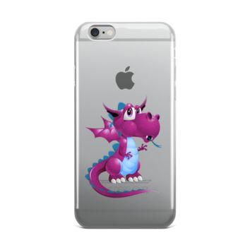Draco Purple iPhone case