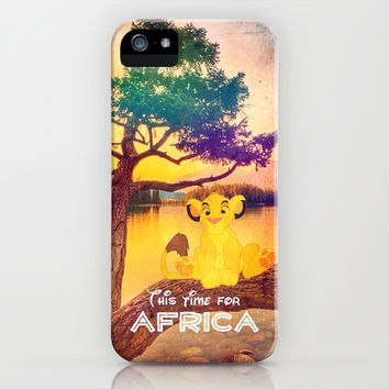 This time for africa - for iphone iPhone & iPod Case by Simone Morana Cyla