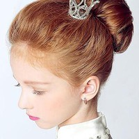 Mini Crown Hair Comb