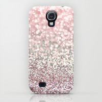 Girly Pink Snowfall iPhone & iPod Case by Lisa Argyropoulos