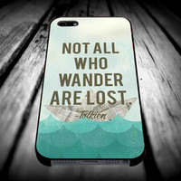 tolkien wander for iPhone 4/4s/5/5s/5c/6/6 Plus Case, Samsung Galaxy S3/S4/S5/Note 3/4 Case, iPod 4/5 Case, HtC One M7 M8 and Nexus Case **