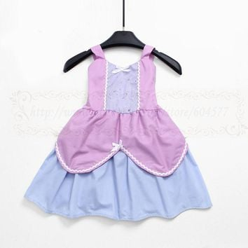 Cool Sofia Costumes Princess dress for toddlers and girls fun for special occasion or birthday party cosplayAT_93_12