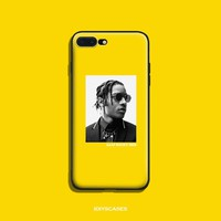 A$AP ASAP Rocky Coque Soft Silicone TPU Phone Case Cover Shell For Apple IPhone 5 5S SE 6 6S 6Plus 6sPlus 7 7Plus 8 8Plus X