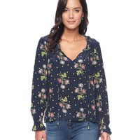 Spotted Blooms Blouse by Juicy Couture