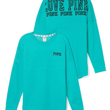 Limited Edition Varsity Crew - PINK - Victoria's Secret