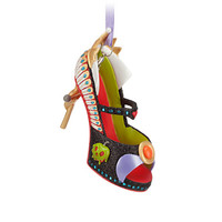 disney parks snow white villain evil queen shoe ornament new with tag
