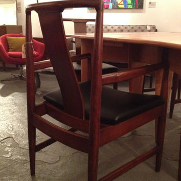 Four Danish Modern Dining Chairs s