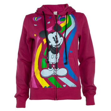 Mickey Mouse - Rainbow Juniors Zip Hoodie Buddie