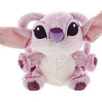 """disney parks lilo and stitch angel 9"""" plush new with tags"""