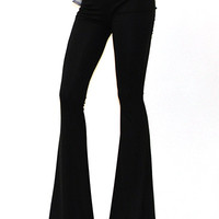 Solid color bell bottom pants (more colors)