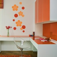 Wall Decal Tropicana - Vinyl Wall Decals