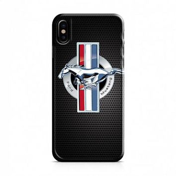 Ford Mustang 4 iPhone X Case