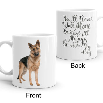 Personalized Pet Coffee Mug Dog Mug Cat Mug - Add Your Pets Picture and Name-Unique Gift for Animal Lovers-Pet Rescue