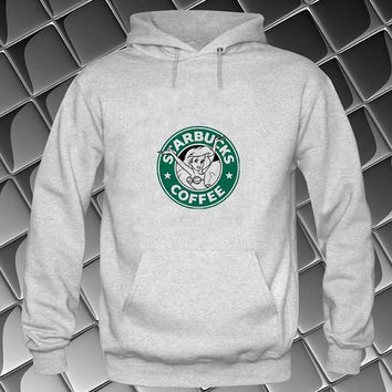 starbucks logo Hoodies Hoodie Sweatshirt Sweater white and beauty variant color Unisex size