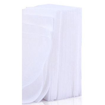 100 Pcs Disposable Facial Cleansing Cotton Tissue Pad Makeup Remover Gift